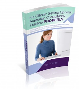 cindy tonkin it's official setting up your australian consultancy from consultants guide series 3d