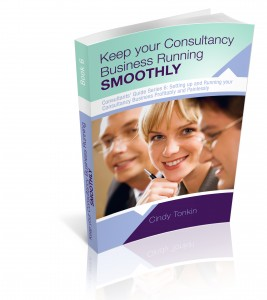 cindy tonkin keep your consultancy business running smoothly from consultants guide series 3d