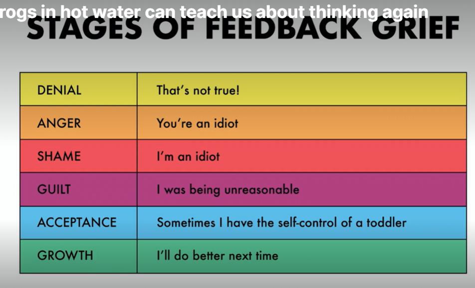 feedback grief